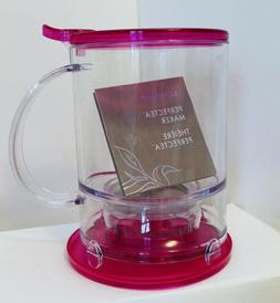 Tevana New In Box 16oz Perfectea Maker Infuser Hot Pink