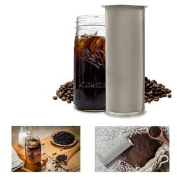 The 64oz: Cold Brew Coffee Maker and Tea Infuser Kit. Premiu