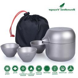 Boundless Voyage Titanium Tea Maker Portable Teapot Kettle C