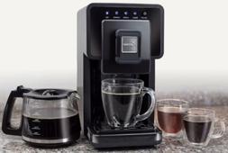 Capresso Triple Brew Coffee & Tea Maker One Machine: Three W