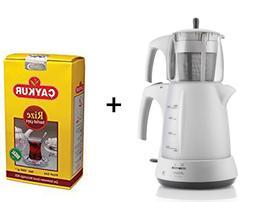 ✔ Turkish Tea Maker Tea pot Electric Kettle Tea Machine Fr