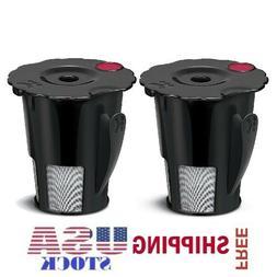Two Pack Keurig 2.0 My K-Cup Reusable Holder Filter for K250