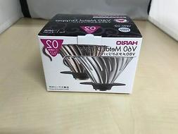HARIO V60 metal coffee dripper Coffee drip 1 - 4 glasses Sil