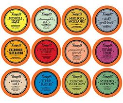 Prospect Tea Variety Pack Single-Cup Tea for Keurig K-Cup Br