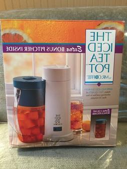 Vtg MR. COFFEE 2 Quart Automatic ICED TEA POT MAKER Brewer B