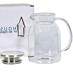 water jug glass pitcher