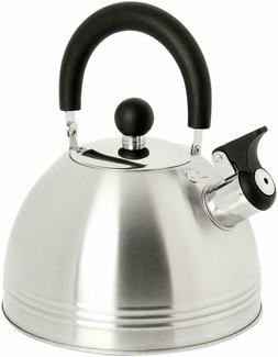 Whistling Tea Kettle Coffee Tea Maker 1.5 Quart Stainless St
