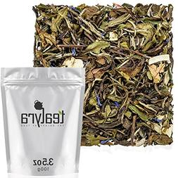 Tealyra - White Coconut Cream - Premium White Tea with Cocon